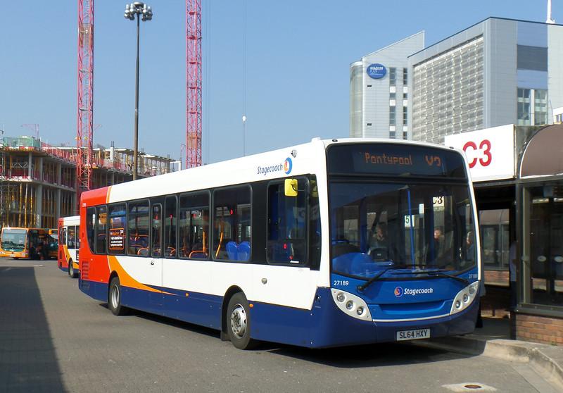 27189 - SL64HXY - Cardiff (bus station)