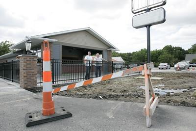 Saints Pub and Patio Construction 06162015