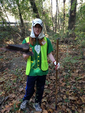 10.29.2016 Patapsco River Watershed Cleanup on N. Hammonds Ferry Rd.