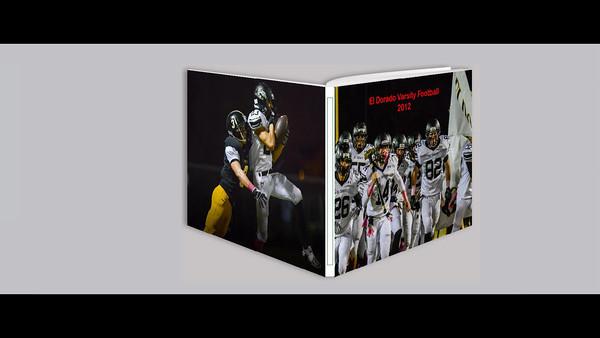 El Dorado Varsity Football 2012 Team Book