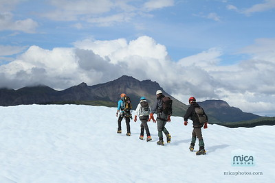 August 10 Ice Climb with Brett and Nevins
