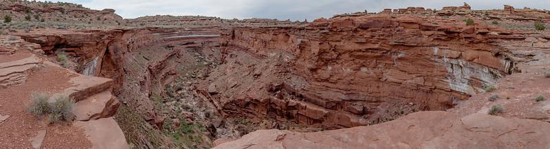 2014-04 Canyonlands NP, Needles District - Salt Creek Overlook