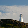 Lighthouse at Cape Spear Newfoundland.