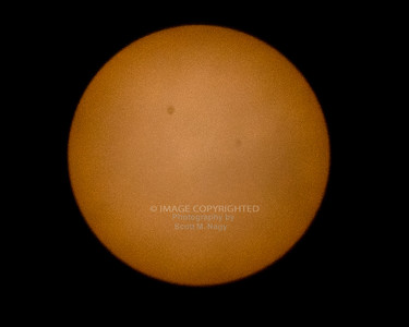 06/19/21 ISS Crossing Sun
