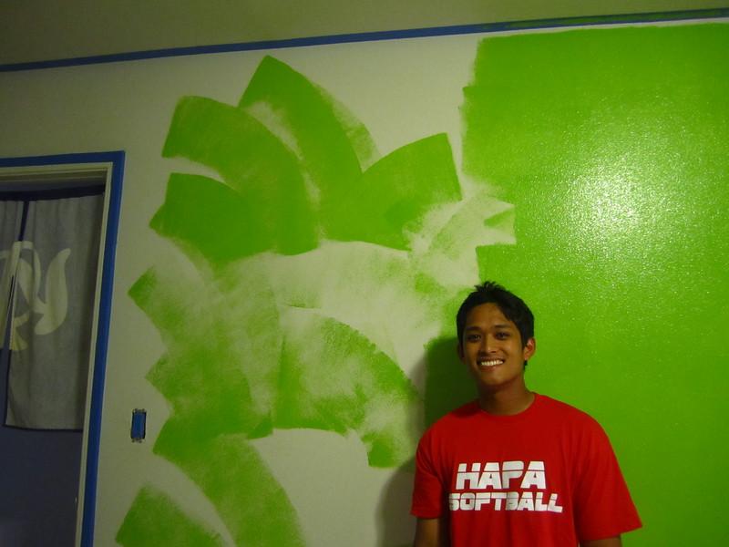 Hawaii - Painting My Room-12.JPG