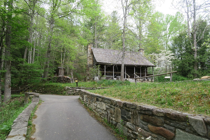 Cradle of Forestry in America Historic Site, NC (4-30-16)