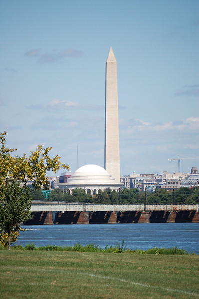 Outdoors in Washington, DC