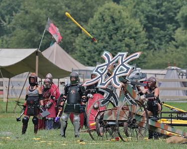 Wednesday - Siege battle