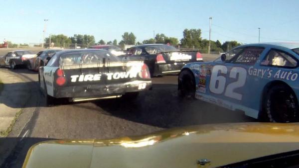 Mark Lamoreaux, In car Video at Raceway Park, July 29th,2012