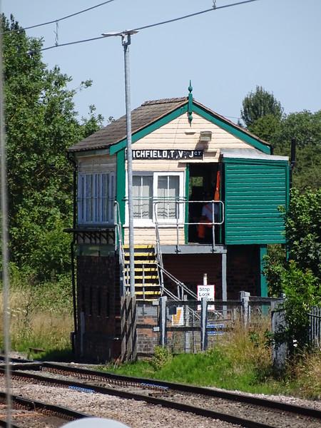 Lichfield Trent Valley Junction SIgnalbox