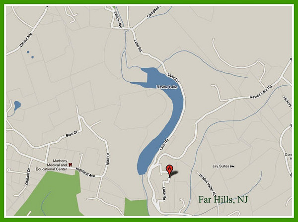 Lake Ravine, Far Hills, NJ - Oct 2010