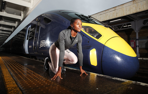 22/11/18 - Southeastern train named after athlete Dina Asher-Smith