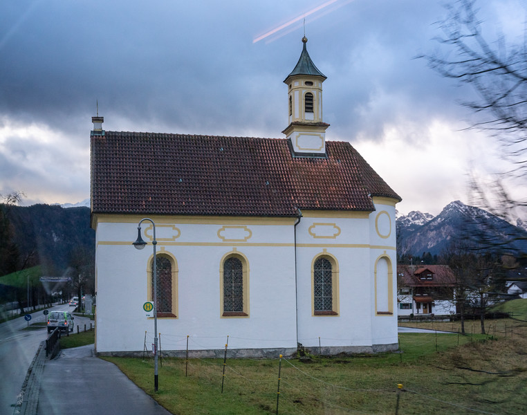 Another sight that quickly became familiar:  picturesque churches in every town