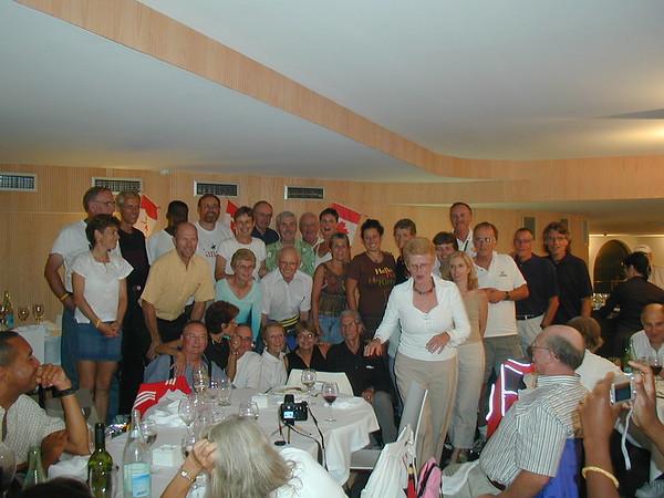 Donostia - Team Canada Party