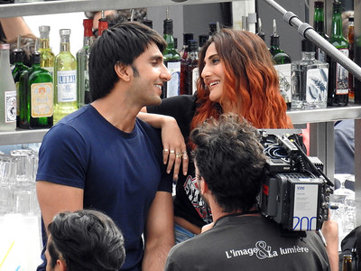 Raven Singh,Vaani Kapoor seen in Paris