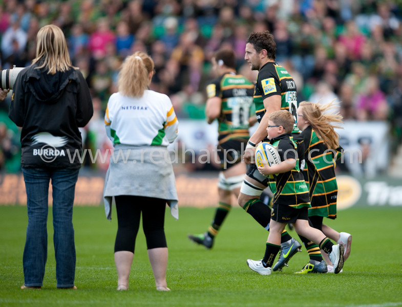 Northampton Saints vs London Irish, Aviva Premiership, Franklin's Gardens, 17 September 2011