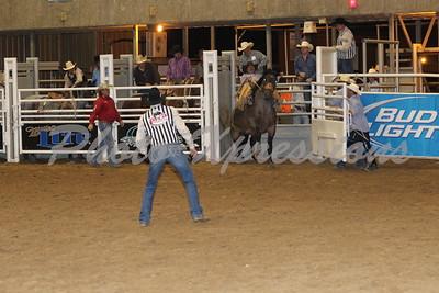 Saddle Bronc Riding Thursday