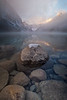 """First Snow"" 3, Lake Louise, Banff National Park, Alberta, Canada."