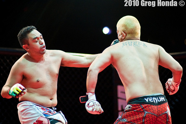 Dwain Uyeda vs Phillip Akui
