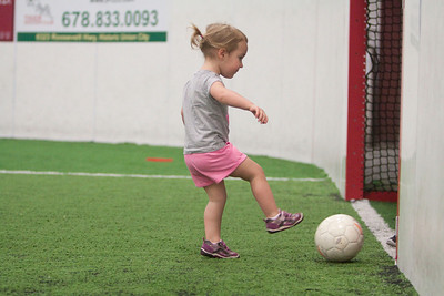 Lil @ Soccer Tots March 2014