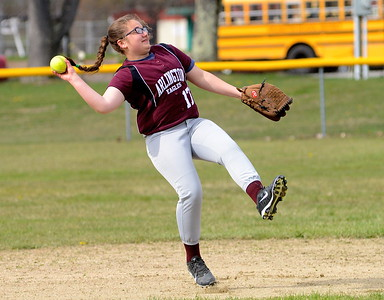 2016 AMHS JV Softball vs BBA photos by Gary Baker