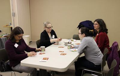 Sisterhood Cards, Cookies, Cordial, and Coffee