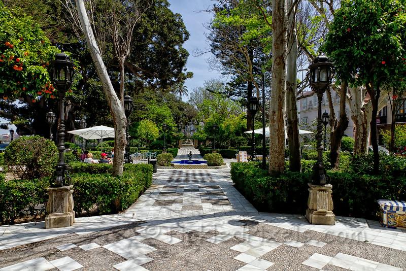 Jardines de Carlos III, Cadiz