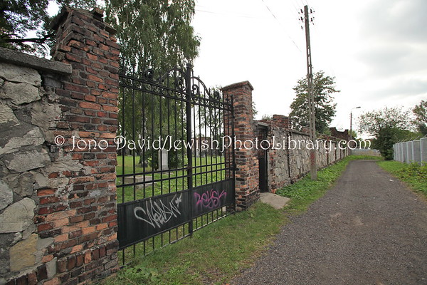 POLAND, Sosnowiec. Jewish Cemetery. (9.2011)
