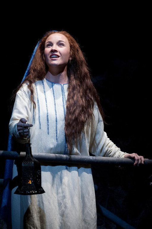 ". Mezzo-soprano Sasha Cooke portrays the title character in San Francisco Opera\'s world premiere of Mark Adamo\'s ""The Gospel of Mary Magdalene,\"" Sunday, June 16, 2013 at the War Memorial Opera House in San Francisco. (D. Ross Cameron/Bay Area News Group)"