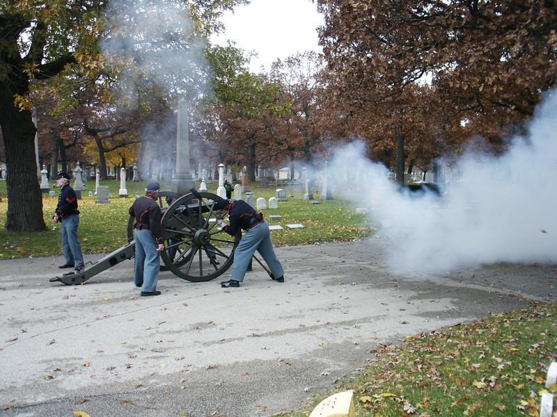 Cannon salute
