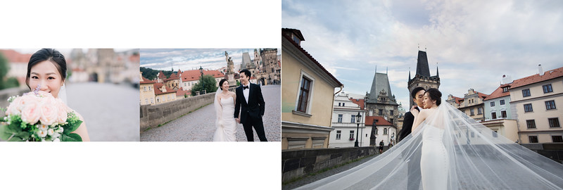 Overseas Pre-Wedding : Winnie and Marco - Prague
