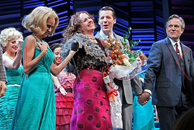 """New York, NY - October 12: Molly Shannon makes her Broadway debut in """"Promises, Promises"""", New York, USA."""