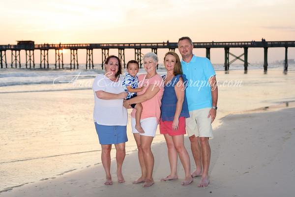 The Downs family     Panama City Beach