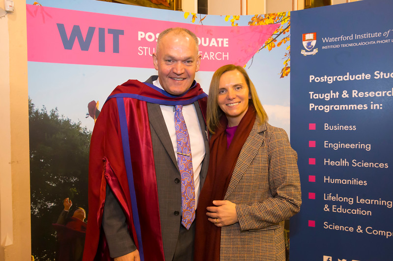 20/12/2018. WIT 25th anniversary of the first PhD award. Picture: Patrick Browne