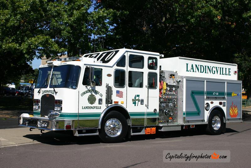 Landingville Engine 47-10: 2004 KME 1750/1500/25