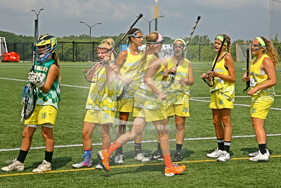 8/3/2014 - Girls High School Division Bronze Medal Game - Western vs. Hudson Valley - Onondaga Community College, Syracuse, NY