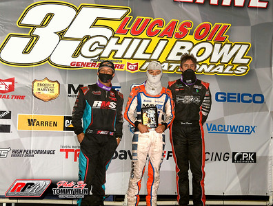 Chili Bowl Nationals - Tuesday Qualifying Night - 1/12/21 - Tommy Hein