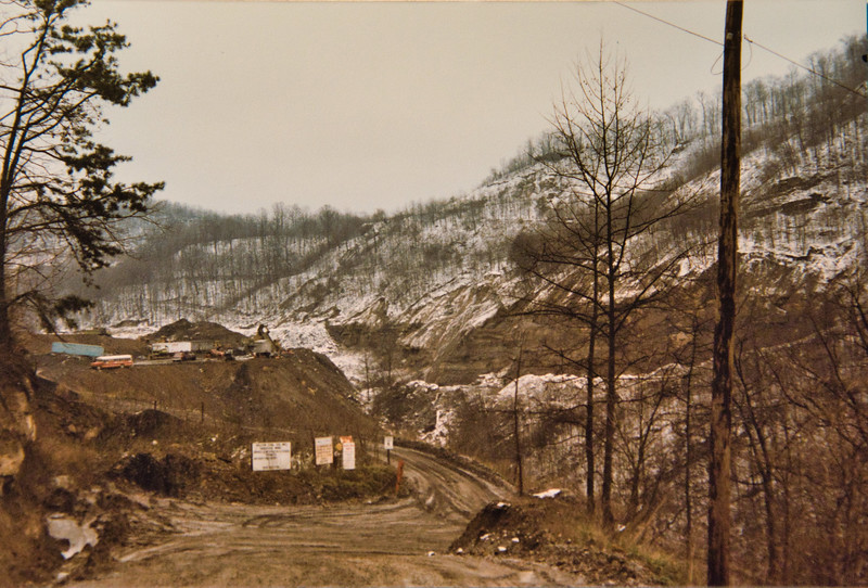 Strip Mine Entrance