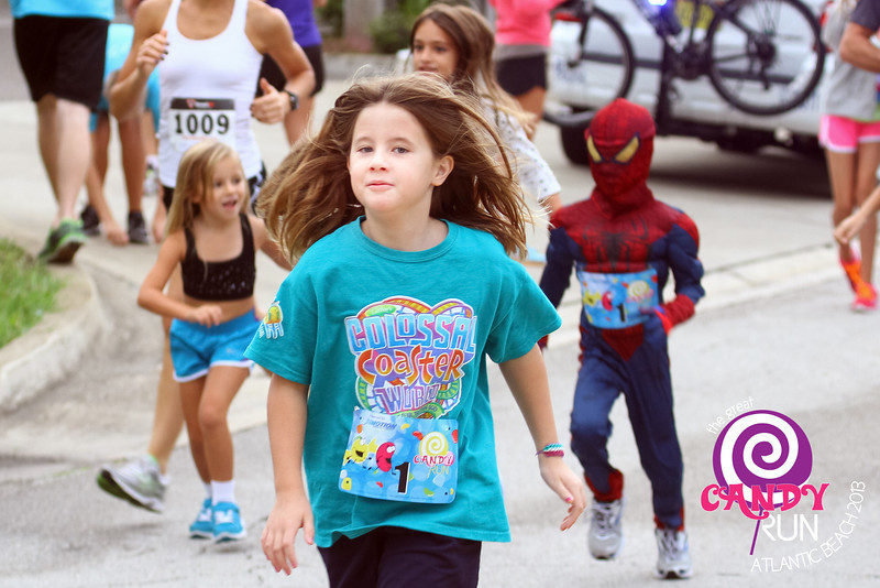 The Great Candy Run 2013, Atlantic Beach, Florida.  Photograph: Eddie Pitts -