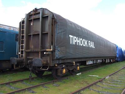 KHA (Sfhis) - Bogie Covered Steel Wagon