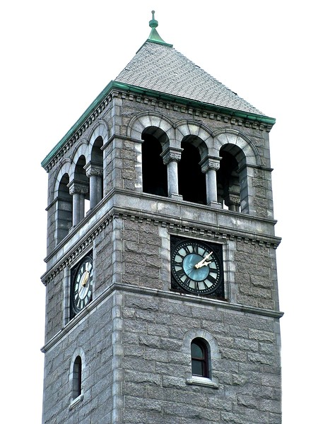 Clock Tower - Middlesex County Juvenile Court - Lowell, MA