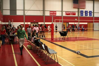 Girls JV Volleyball - 10/20/2009 Newaygo