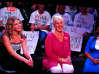 2010-0830 Marja Bergers op TV