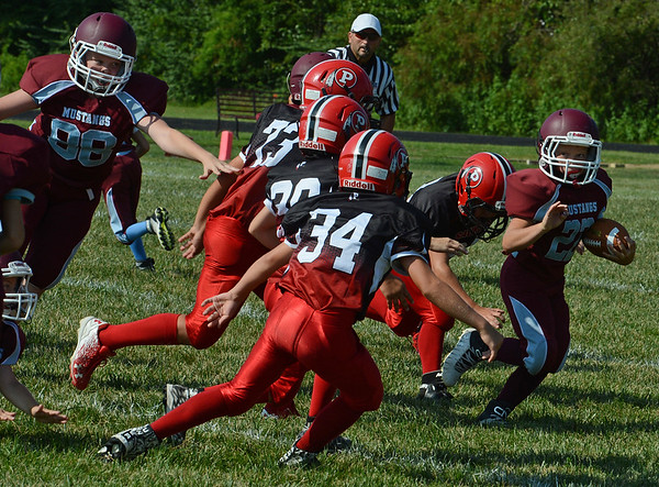 Saukee  Youth Football vs Unity