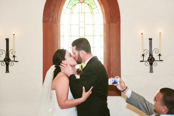 Wedding Ceremony in Harmony Chapel
