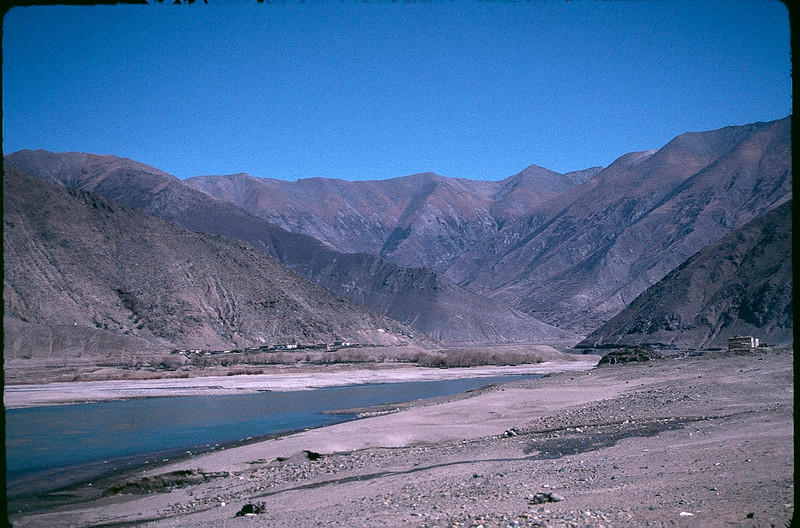the terrible deforestation and erosion of Tibet