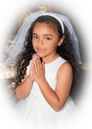 Ava First Communion