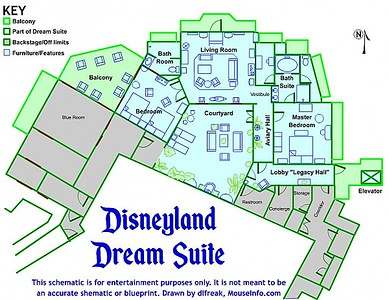Inside the Disneyland Dream Suite at the Disneyland Resort
