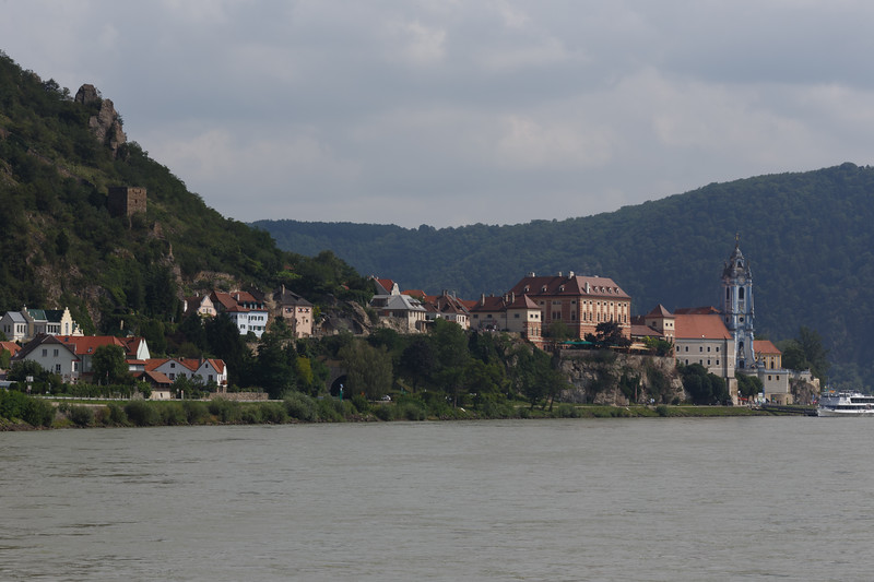 "Richard the Lionhearted was imprisoned for a year in the castle above medieval Durnstein, the ""Pearl of the Wachau"""