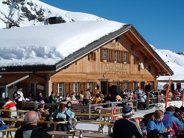 Grindelwald First - Mountain restaurant